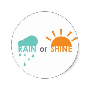 rain_or_shine_round_sticker