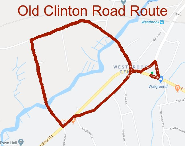 old clinton rd route