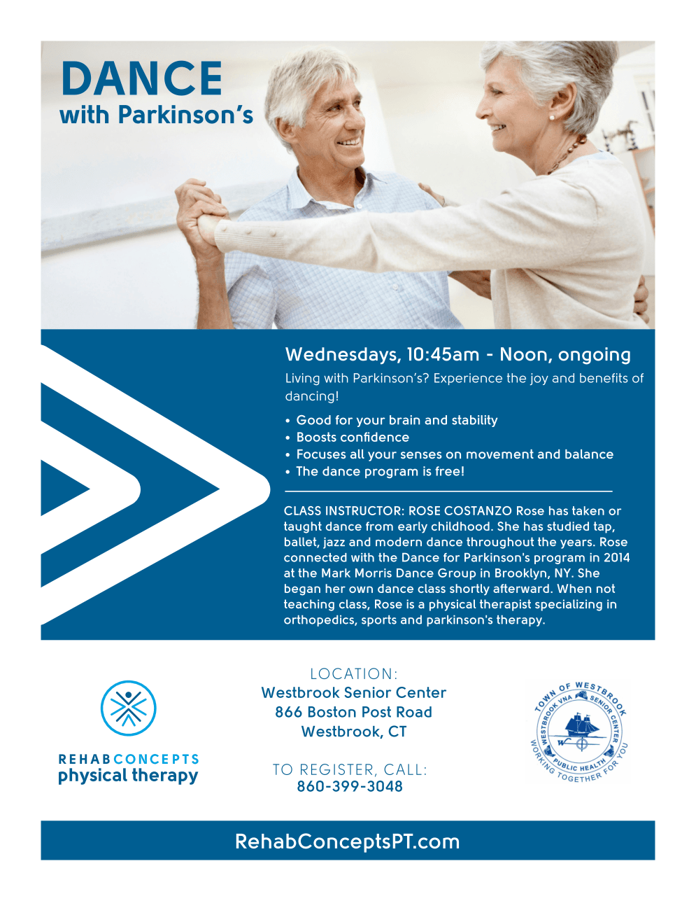 Dance With Parkinsons Flyer